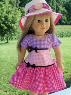 My newest pattern, Meet Maryellen!, is specially priced to welcome American Girls newest historical character from Jacksonville, Florida: Maryellen