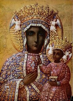 Black Madonna Icon, photographed by CharmaineZoe, via Flickr