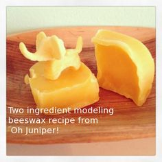two ingredient modeling beeswax