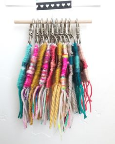 Woven Key Chains by Cassie Hull Wild Plum Co