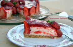Cooking Time, Cooking Recipes, Greek Desserts, Cheesecakes, Food To Make, Cupcake Cakes, Nom Nom, French Toast, Berries