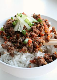 Looking for a flavor packed quick and easy dinner the whole family will love? These Korean Beef Bowls are it! I've been meaning to try these for a while now and finally made them last week. Boom Baby! They're a winner! I found two recipes on Pinterest and used them for a jumping off point …