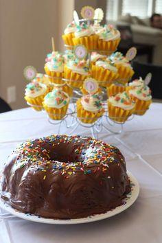 donut bundt cake
