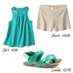 A vacation worthy beach look for toddler girls!  Check out the link for shopping info.
