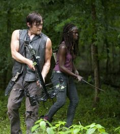 The Walking Dead - Episode 4.03: Isolation - Daryl and Michonne
