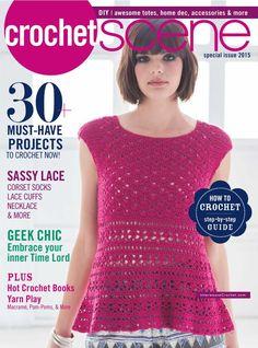 CrochetScene  special issue 2015 - 轻描淡写 - 轻描淡写..