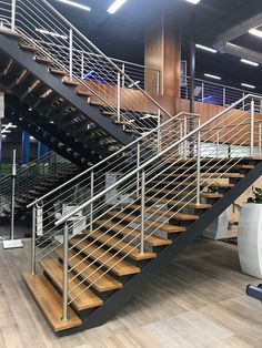 This steel staircase