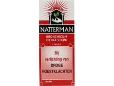 Natterman Bronchicum extra sterk 100ml  Bronchicum extra sterk 100ml  EUR 5.03  Meer informatie