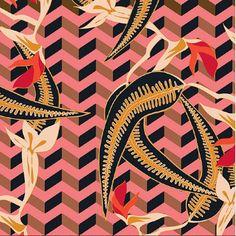 Wallpaper - Parme Marin