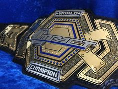 WWE Smackdown Women's Championship Belt · TNA World Title TNA Impact Grand Championship · TNA X Division Championship Belt