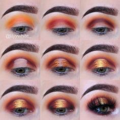 """3,634 Likes, 85 Comments - Lily  (@lilyywhite_) on Instagram: """"I keep using warm tones  sorry about that ❤️inspired by @normagarza_makeup  @morphebrushes -…"""""""