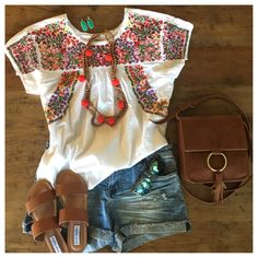 PERFECT Summer Outfit 2019 summer t shirt summer nights t shirt 2019 - summer t shirt summer nights t shirt sleeve summer t shirt half sleeve t shirts sleeveless tee t shirt t shirt dresses shirt bobo summer cup - tshirt Looks Chic, Looks Style, Style Me, Boho Style, Khaki Shorts Outfit, Denim Shorts, Seersucker Shorts, Striped Shorts, Boho Fashion