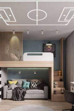 Luxury Kids Bedroom, Cool Kids Bedrooms, Kids Bedroom Designs, Luxury Rooms, Small Room Bedroom, Kids Room Design, Awesome Bedrooms, Room Decor Bedroom, Childrens Bedrooms Boys