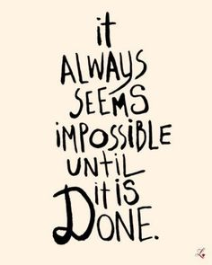 """Think about this: The word """"impossible"""" had the words """"I'm possible"""". Great Quotes, Quotes To Live By, Inspirational Quotes, Daily Quotes, Motivational Monday, Motivational Sayings, Amazing Quotes, Good Luck Quotes, Super Quotes"""
