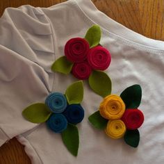 felt brooches | felt brooches | Flickr - Photo Sharing!