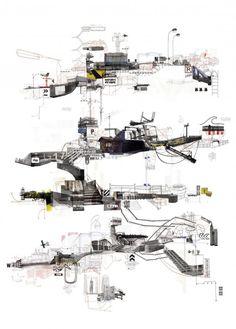 by Frank Dresmé of 21IBS Muy al estilo de las derivas de Debord