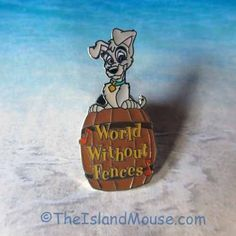 Disney Lady and the Tramp Musical Moments World Without Fences Pin (UU:18081) #OfficialDisneyProduct