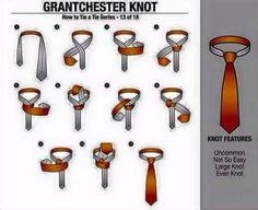 Sencillos pasos para hacer diferentes nudos de corbata. #elegante #VM