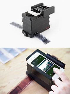 Share your 35mm shots on IG quickly and easily with the Lomo Smartphone Film Scanner! It turns your phone (yup, any phone) into a film scanner.
