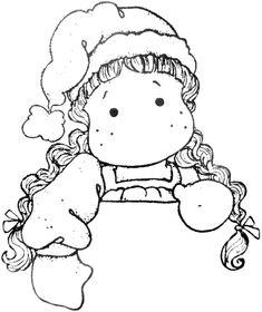 Sweet Dreams Christmas 2011 - Holding Tilda
