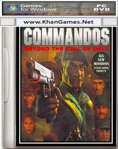 Commandos 2 Beyond The Call Of Duty Game Size: 51.9 MB System Requirements Operating System: Windows Xp,7,Vista,8 Cpu: Intel Pentium III 733 Mhz Ram: 128 MB Video Memory: 32 MB