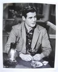 """I'm sorry I got the jumps tonight. I'm talkin' to ya but what I'm thinkin' is: what's my wife doin' in St. Louis...who's she with. Some day I'm going to stick her full of pins just to see if blood comes out.""  Robert Ryan as Earl Pfeiffer in 'Clash By Night'"
