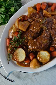 Beef Steak Recipes, Pot Roast Recipes, Beef Recipes For Dinner, Meat Recipes, Cooker Recipes, Game Recipes, Turkey Recipes, Oven Recipes, Crockpot Recipes