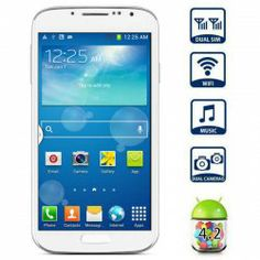 $78.22 5.0 inch I9502 Android 4.2 Smartphone MTK6572 Dual Core 1.3GHz WVGA Screen GPS Dual Cameras