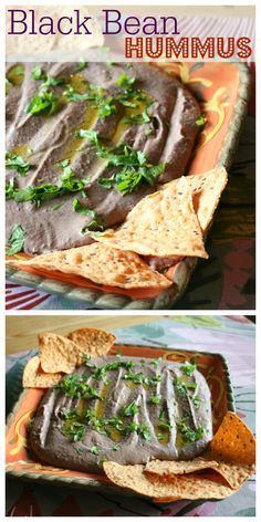 Black Bean Hummus - a great  Summer  appetizer. Perfect for your outdoor dinning experience.   Find this many more Southwestern Flavor Recipes at   CeceliasGoodStuff.com | Good Food for Good People