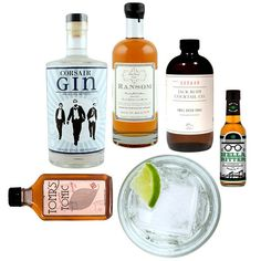 Gourmet gifts for dad for Father's Day: Perfect Gin and Tonic set | @mouth