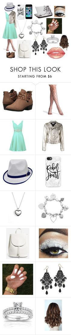 """""""outfit 5"""" by ally-cat-369 ❤ liked on Polyvore featuring Blowfish, RED Valentino, FingerPrint Jewellry, Casetify, Pandora, ChloBo, Everlane and Annello"""