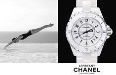 Jac Jagaciak, Fei Fei Sun + Sharam Diniz Star in Chanel Linstant Watch 2014 Campaign