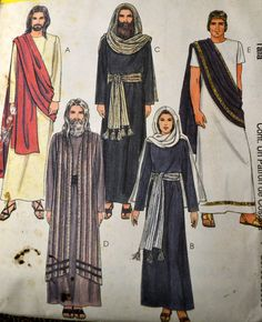 McCall's 2060 Bible  Costumes Passion Play by GoofingOffSewing