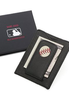 These baseball themed wallets will be a big hit with your Dad this year on Father's Day.