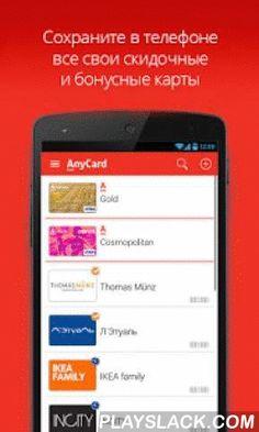 AnyCard  Android App - playslack.com , AnyCard позволяет сохранить все Ваши дисконтные и бонусные карты в телефоне. В магазинах предъявляйте карты на кассах с экрана телефоне, сами карты оставьте дома! В приложении AnyCard Вы можете увидеть все скидки по Вашей карте Альфа-Банка в Вашем городе.