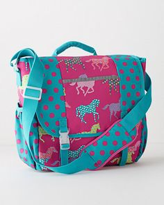 Garnet Hill Kids' Messenger Bag