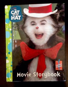 92dcf523 Dr. Seuss' The Cat In The Hat Movie Storybook Limited Edition Kids Reading  Books