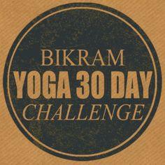 Bikram Yoga 30 Day Challenge