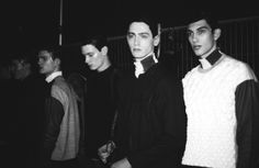 Backstage at LCM: James Long AW14 by Sophie Mayanne for Boys by Girls.