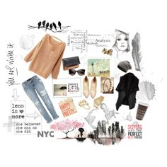 """""""back to basic."""" by gawa on Polyvore"""