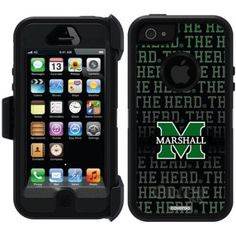 iPhone 5SE/5s OtterBox Defender Series University Case (K-P), Green