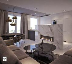 Aranżacje wnętrz - Salon: MOCO In5 - Średni salon z kuchnią z jadalnią, styl nowojorski - MOCO Architecture. Przeglądaj, dodawaj i zapisuj najlepsze zdjęcia, pomysły i inspiracje designerskie. W bazie mamy już prawie milion fotografii!