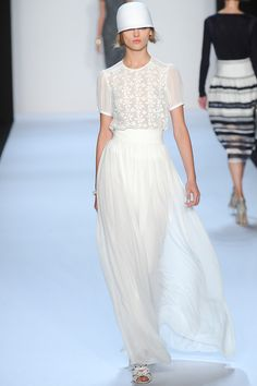 New York Fashion Week Spring 2014. Want the top.
