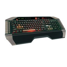 Mad Catz Inc Cyborg Gaming Keyboard with Tri-Color Backlighting Open Data, Usb, Alienware, Gaming Headset, Cool Tech, Tech Gadgets, Computer Accessories, Computer Keyboard, Futuristic