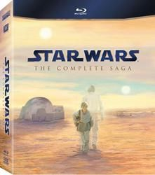 Star Wars: The Complete Saga on Blu-Ray  $89.96 #giftscabinfever