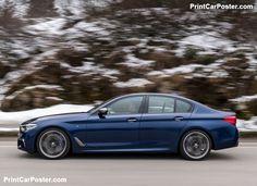 BMW M550i xDrive 2018 poster, #poster, #mousepad, #tshirt, #printcarposter