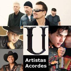 Artistas con U (Lista) Canciones con letras y acordes de guitarra y piano