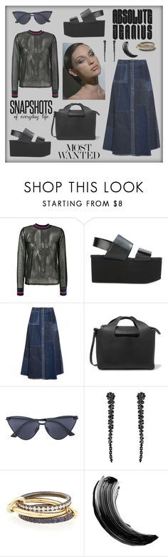 """Most wanted"" by zabead ❤ liked on Polyvore featuring Zoe Karssen, Marni, McQ by Alexander McQueen, The Row, Gianvito Rossi, Le Specs, Simone Rocha and SPINELLI KILCOLLIN"