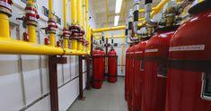 Проект газового пожаротушения Air Conditioning Repair Service, Conditioner