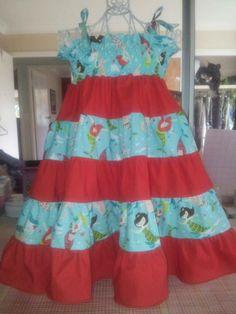 6 layer Twirly dress